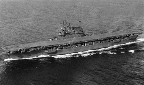 Tàu sân bay USS Enterprise. Ảnh: nationalinterest