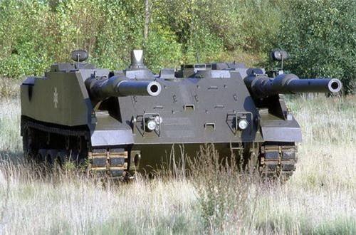 Nguyên mẫu thử nghiệm của xe tăng VT 1. Ảnh: Military Today.
