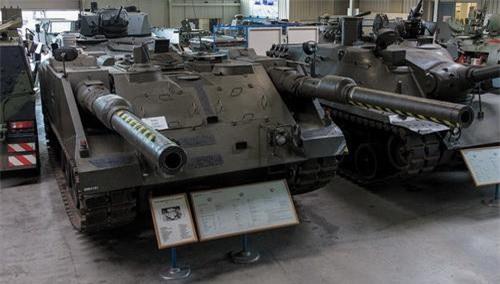 Một chiếc VT 1 được trưng bày trong bảo tàng tại Đức. Ảnh: Military Today.