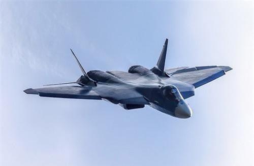 Tên lửa Kh-47M2 Kinzhal phiên bản thu gọn sẽ sớm được trang bị cho tiêm kích tàng hình Su-57. Ảnh: TASS.