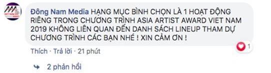 BTC AAA 2019 chính thức lên tiếng về lùm xùm loạt sao Việt đồng loạt rút khỏi danh sách đề cử - Ảnh 4.