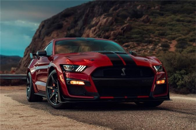 Hennessey sap gioi thieu ban do Ford Mustang Shelby GT500 manh 1.200 ma luc hinh anh 2