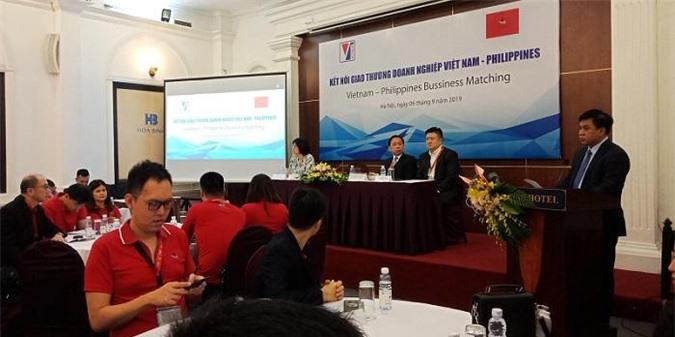 ông Lê Hoàng Tài - Phó Cục trưởng Cục Xúc tiến thương mại - phát biểu tại hội thảo.