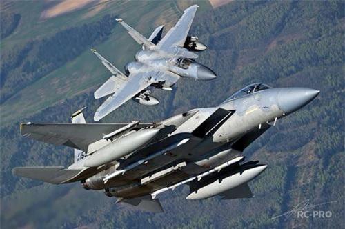 Tiêm kích F-15C của Mỹ được sản xuất trong giai đoạn đầu thập niên 1980. Ảnh: RC-pro.