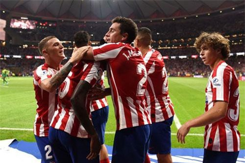 3. Atletico Madrid (tổng số tiền mua sắm: 247 triệu euro).