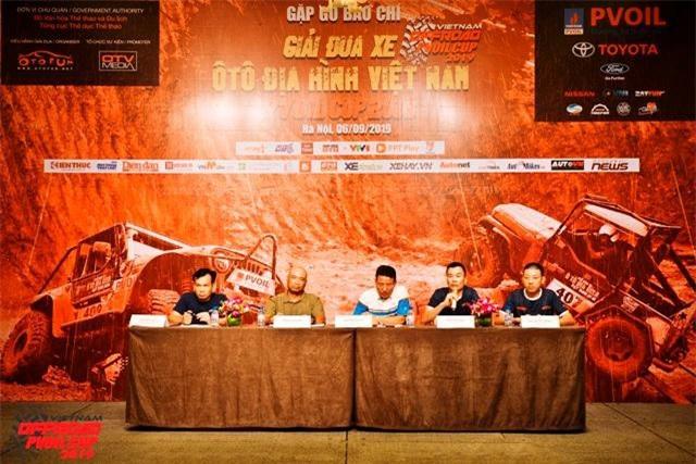 giải Đua xe Ô tô Địa hình Việt Nam PVOIL Cup 2019