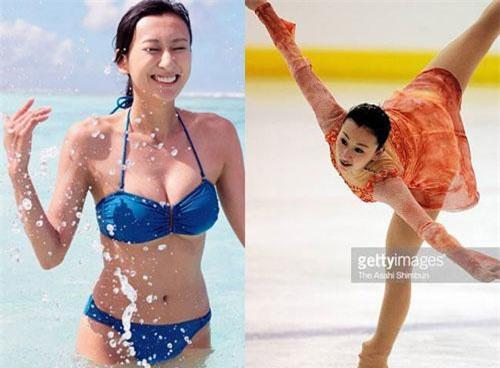 1. Mai Asada (chị gái vận động viên trượt băng nghệ thuật nổi tiếng Mao Asada) từ bỏ bộ môn trượt băng nghệ thuật vì khuôn ngực quá khổ.