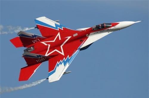 Chiếc MiG-29OVT được sơn rất đẹp. Ảnh: Airliners.net