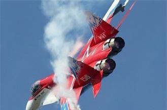 MiG-29OVT có khả năng cơ động tốt trong chiến đấu. Ảnh: Airliners.net