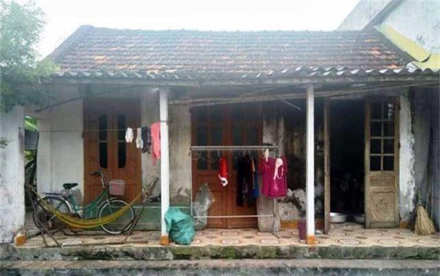 Ngôi nhà nơi chị T. sinh sống.