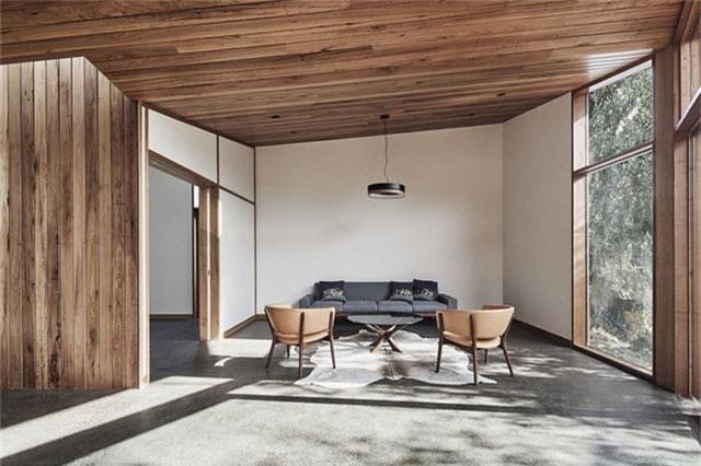 Cải tạo ngôi nhà nhỏ đổ nát trở thành không gian sống ấm cúng và hiện đại - Ảnh 8.