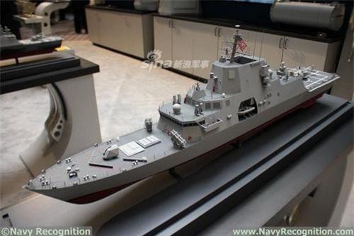 Mô hình khinh hạm thế hệ mới của Hải quân Mỹ. Ảnh: Navy Recognition.
