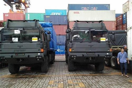 Theo thông tin được hãng thông tấn TASS của Nga đăng tải hồi cuối năm 2018, Việt Nam đã có trong tay khoảng từ 5 tới 6 hệ thống tên lửa đất đối không SPYDER cùng khoảng 250 tên lửa đi kèm do Israel cung cấp. Nguồn ảnh: Defenceblog.