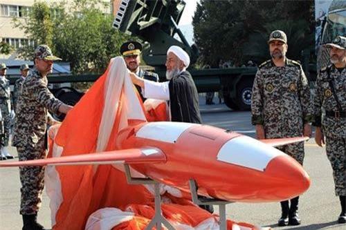 Kian do các chuyên gia quân sự Iran chế tạo. Ảnh: AFP