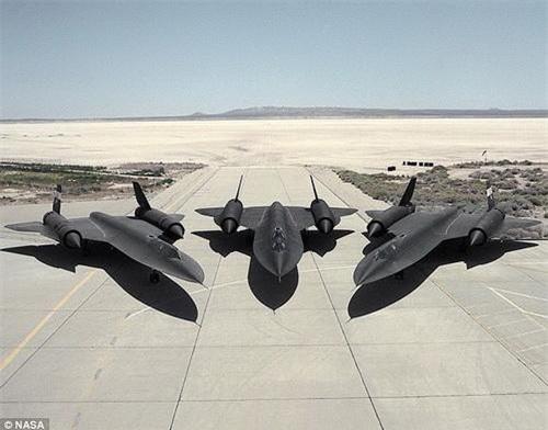SR-71 Blackbird sẽ tái xuất dưới dạng UAV mang mã định danh SR-72. Ảnh: NASA.