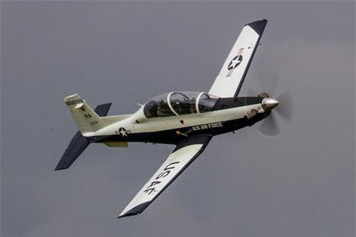 Máy bay huấn luyện sơ cấp T-6 Texan II của Không lực Hoa Kỳ. Ảnh: US Air Force.