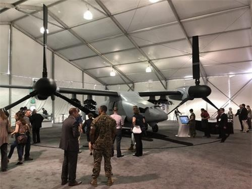 Máy bay không người lái cánh quạt lật V-247 Vigilant. Ảnh: National Interest.