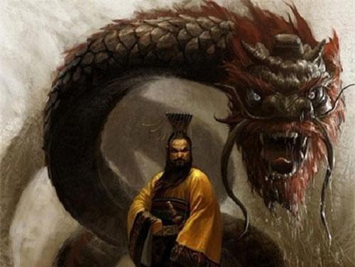Phác họa hình ảnh Tần Thủy Hoàng, hoàng đế đầu tiên của Trung Hoa.