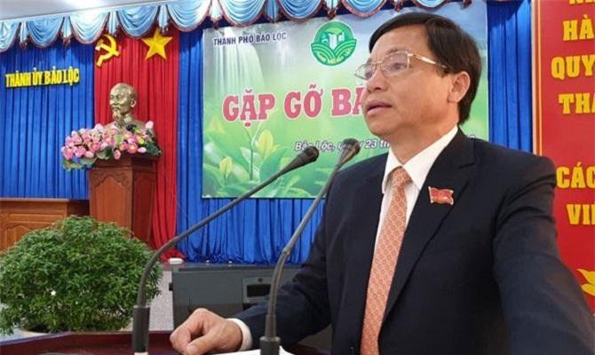 Ông Nguyễn Văn Triệu, Bí thư Thành ủy Bảo Lộc