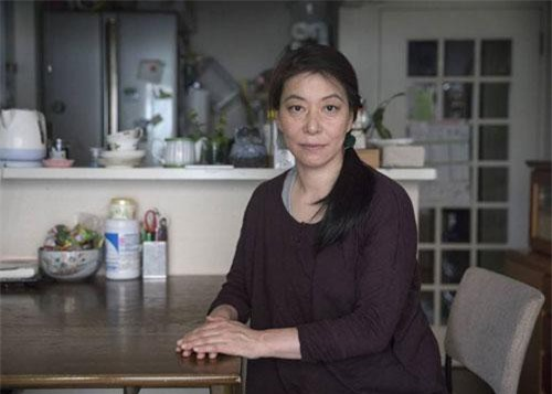 Cô Orrie Ikeda, một bà mẹ đơn thân ở Nhật Bản.