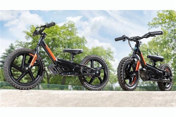"""Mới đây, hãng xe môtô danh tiếng Mỹ - Harley-Davidson vừa bất ngờ giới thiệu tới công chúng trên toàn thế giới bộ đôi xe điện """"nhí"""" dành cho các em nhỏ với tên gọi thương mại Harley-Davidson IRONe12 và Harley-Davidson IRONe16."""