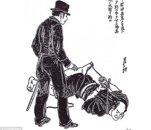Các chuyên gia đã dịch thành công cuốn sách cổ dạy võ thuật do samurai viết. Đây là tác phẩm của samurai Tetsutaro Hisatomi. Trong ảnh mô tả cảnh S amurai Tetsutaro Hisatom hướng dẫn nhiều chiêu thức võ thuật có thể sử dụng hiệu quả trong việc bắt giữ tội phạm.