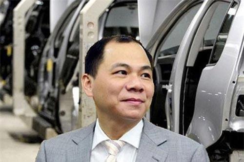 Nhóm cổ phiếu của ông Phạm Nhật Vượng tăng giá ấn tượng.