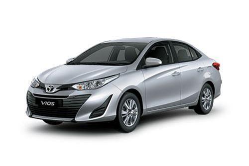 Toyota Vios (doanh số: 1.934 chiếc).
