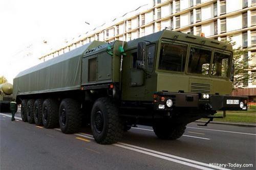 Xe tải việt dã MZKT-79291 do Belarus chế tạo. Ảnh: Military Today.