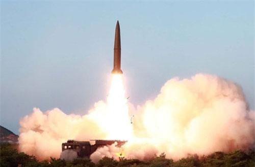 Một vụ phóng tên lửa Triều Tiên hồi tháng 7 (Ảnh minh họa: KCNA)