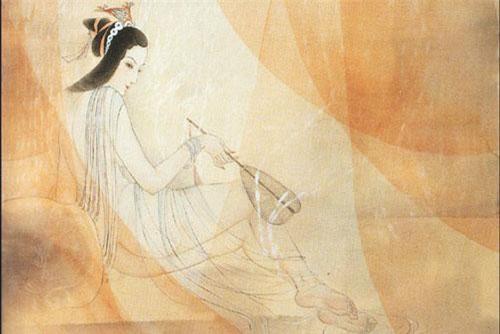 """Lao Ái: Vốn là hoạn quan giả trong triều đình Tần Quốc thời chiến quốc, thực chất là trà trộn vào trong cung để """"hầu hạ"""" thái hậu Triệu Cơ, mẹ đẻ của Tần vương Doanh Chính. Hai người tư thông với nhau sinh được hai người con trai, Lao Ái vô liêm xỉ tự xưng là """"giả phụ"""" của Tần Vương, được phong là Trường Tín Hầu, được hưởng cuộc sống giầu sang vinh hoa của một vương hầu. Ảnh minh họa chân dung Triệu Cơ."""