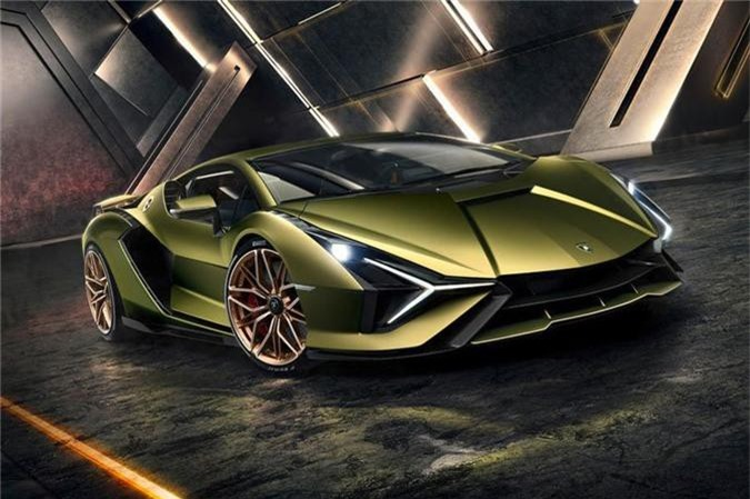 Lamborghini Sian. Ảnh: Netcarshow.
