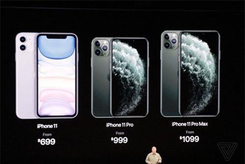 Bộ 3 iPhone mới được ra mắt.