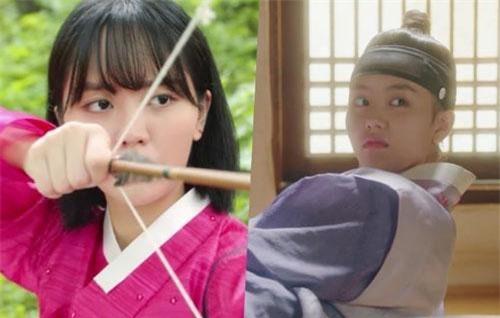Kim So Hyun học làm kỹ nữ, trổ tài bắn cung điệu nghệ khiến fan ngỡ ngàng