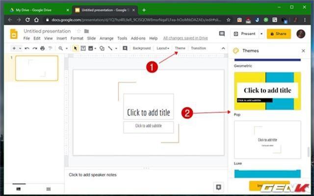 Những gợi ý giúp cho bài thuyết trình của bạn ở trên Google Slides càng thêm sinh động - Ảnh 13.