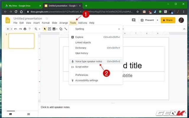 Những gợi ý giúp bài thuyết trình của bạn trên Google Slides càng thêm sinh động - Ảnh 5.