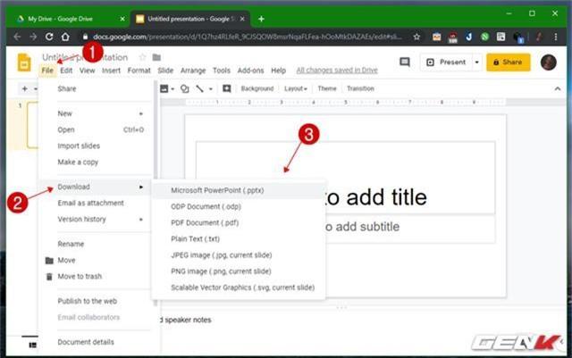 Những gợi ý giúp cho bài thuyết trình của bạn trên Google Slides càng thêm sinh động - Ảnh 9.