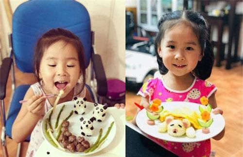 Nhờ những cơm được trang trí đẹp mắt,các bé nhà chị Hươngdần thích ăncác loại rau và những món trước kia mình không thích.