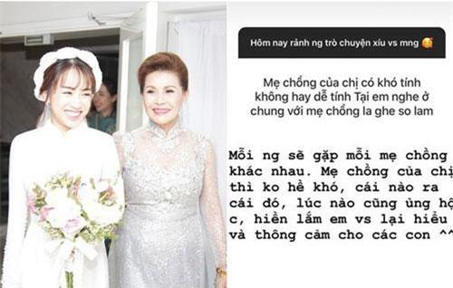 Con gái Minh Nhựa bất ngờ chia sẻ về mẹ chồng ngày đầu làm dâu