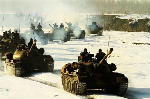 Xe tăng chiến đấu chủ lực Type 59 nguyên bản của Quân đội Trung Quốc. Ảnh: China Military.