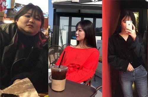 Ngoại hình của hot girl béo phì xứ Hàn sau khi giảm được 31kg.