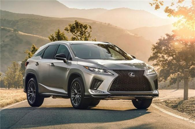 Lexus RX 2020. Ảnh: Netcarshow.