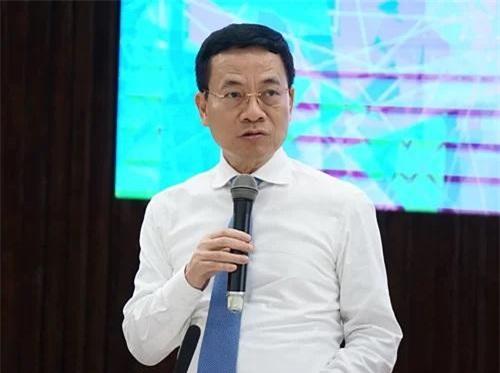 Bộ trưởng Bộ TT&TT Nguyễn Mạnh Hùng. Nguồn ảnh: Internet