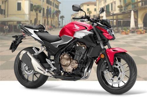 Honda CB500F.