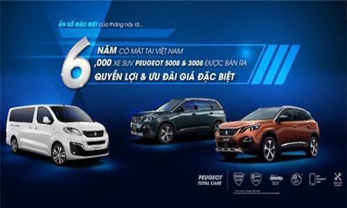 Chương trình ưu đãi của Peugeot.