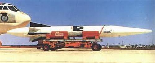 Tên lửa đạn đạo siêu vượt âm AGM-48 Skybolt của Mỹ. Ảnh: National Interest.