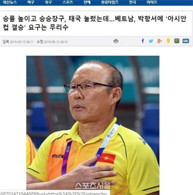 VFF phủ nhận việc ép chỉ tiêu vào trận chung kết Asian Cup với HLV Park Hang Seo - 1
