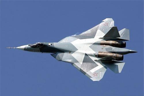 Máy bay Su-57 của Nga. Ảnh: Wikipedia.