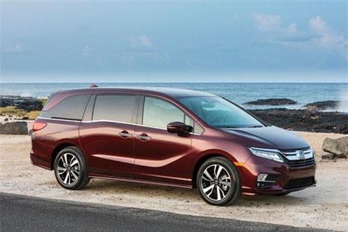 6. Honda Odyssey (doanh số: 65.089 chiếc).