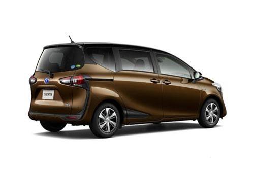 8. Toyota Sienta (doanh số: 62.291 chiếc).